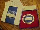 Historical Society year 2000 White House ornament boxed