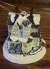 Thomas Kinkade Victorian Christmas ll lighted ornament