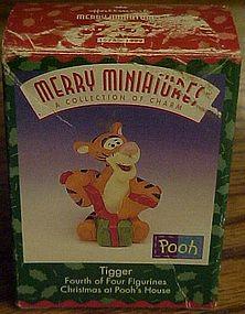 Hallmark A collection of Charm Merry Miniatures Tigger