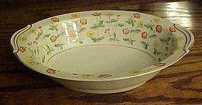 RC Noritake N1462 Oval vegetable bowl yellow flowers