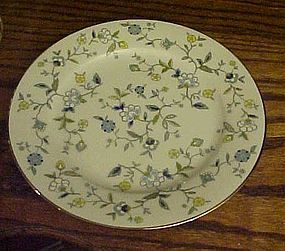 "Noritake Chintz salad plate 8 3/8"" discontinued pattern"