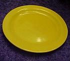 "Hollywood Craftsman yellow dessert plate  6 3/8"""