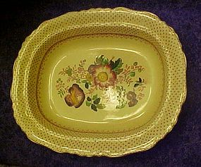 Mason's Paynsley Pink oval vegetable bowl 10 1/4""