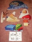 The Santa Claus movie display header