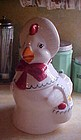 Vintage Henny Penny country hen cookie jar