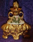 Jim Beam Regency decanter 1972 lots of gold!!