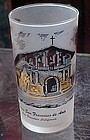 Vintage California Mission San Francisco drinking glass