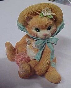 Enesco Calico Kittens figurine Its all fur you #627968