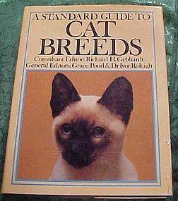 Standard Guide to Cat Breeds  Cat Fanciers Assoc book