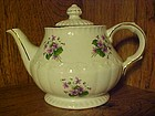 Ellgreave England teapot with violets, Beautiful