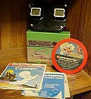 Vintage bakelite view-master boxed  and Disney reels