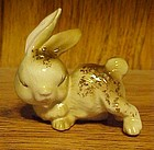 Vintage Ucago playful bunny rabbit figurine