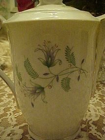 Winterling Bavaria Fern demi coffee pot