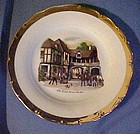 Czechoslovakia plate The old Coach House Stratford