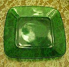 Anchor Hocking Forest green charm Dinner Plate 9 1/4""