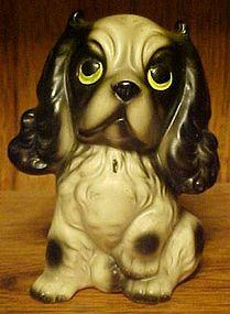 Vintage Victor ceramic Cocker Spaniel dog figurine