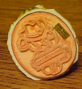 Mary's Moo Moo Rubber stamper THANK MOO Enesco