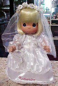 Precious Moments Communion doll Christina Katherine