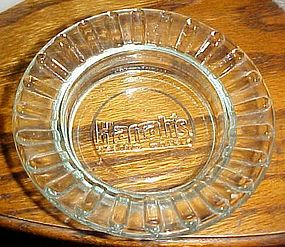 Harrah's casino motels souvenir ashtray