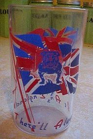 Vintage glass from England There'll always be an Englan