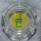 Vintage Holiday Inn Hotel  glass souvenir ashtray