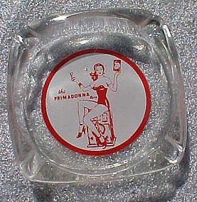 Vintage Primadonna Reno  Casino souvenir ashtray
