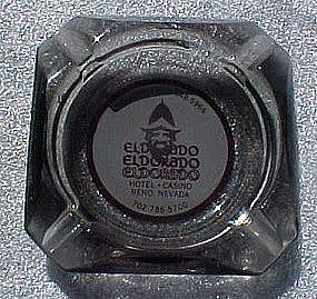 Vintage El Dorado Hotel and Casino souvenir ashtray