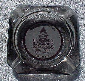 Vintage El Dorado Hotel and Casino souvenir ashtray