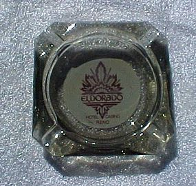 Vintag El Dorado Hotel and Casino souvenir ashtray