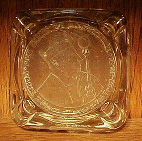Wonderful Intaglio ashtray Aux Ducs De Bourgogne