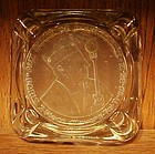 Wonderful Intaglio ashtray Aux Ducs De Bourgogne