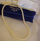 Princess House Luminess pearl twist necklace boxed