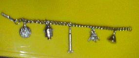 Man on the moon Space Apollo souvenir bracelet