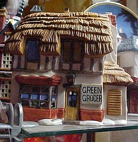 Dickens Village Dept 56 Green Grocer Village house