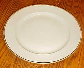 china #66 white with gold trim bread and butter