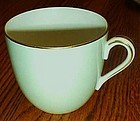 Noritake china 621 lt green w/ gold oversized cup / mug