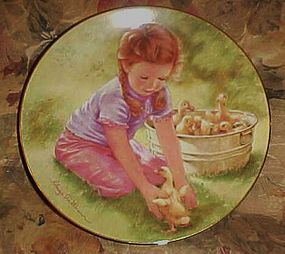 Last one in plate by Abbie Williams Magic of Childhood