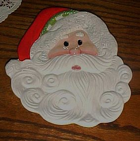 Fitz & Floyd Holiday Cheer Santa plate