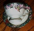 Lena Liu's Hummingbird Garden cup saucer Calliope
