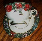 Lena Liu's white earred Hummingbird cup and saucer