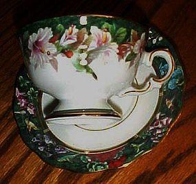 Lena Liu's Ruby throated Hummingbird cup and saucer