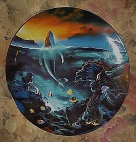 World beneath the waves by Dale TerBush fourth plate