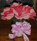 Valentines Day Pink Roses D-lux ink pen arrangement