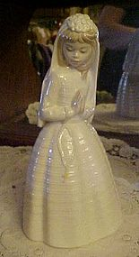 Lladro NAO First Communion praying girl figurine #236