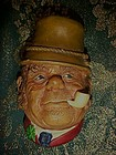 Bossons Paddy figural head 1969 original tag