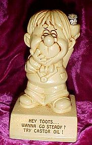 Paula sillisculpt figurine Hey Toots wanna go steady?..