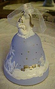 Hallmark 2001 Journey to Bethlehem wedgewood bell