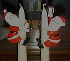 Vintage Napco Santa Claus candle climbers original box