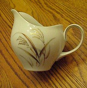Harmony House Fine China Golden Wheat creamer