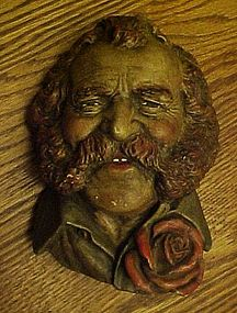 Harry Wheatcroft Chalkware Bossons? Head